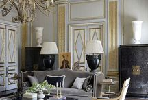 neoclassical style interiors