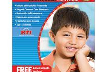 Assessments for Kindergarten
