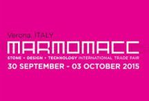 Marmomacc 2015 /  Da mercoledì 30 settembre a sabato 03 ottobre 2015 visita il sito  http://www.marmomacc.com/it/