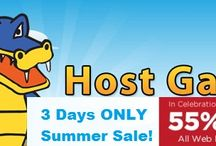 Hostgator Summer Offer / Cook UP a New Website - Summer is Sizzling with Sales! 55% OFF New Hosting Plans.