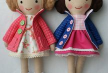 Fabric Doll - Muñeca  de Tela