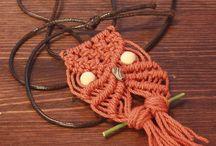 Macrame编绳饰品