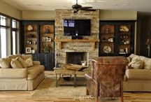 Fireplace ideas / by Brecklyn Ferrin