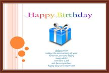 Birthday / Happy Birthday Wishes, Happy Birthday Images, Happy Birthday Quotes, Find more on http://www.happybirthdaywishesonline.com/