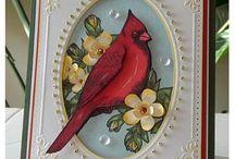 Cards - Christmas, Cardinals