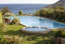Villa Valerie, luxury sea view holiday villa with pool and spa access in mainland Greece