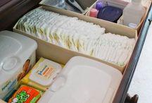 Organização Quarto do Bebê