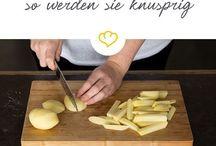 Pommes im Ofen
