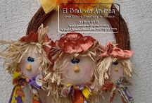 Decoraciones Otoño / by El Baúl de Andrea