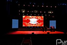 Sony Centre For Performing Arts - February 18, 2015 / Chinese New Years show inside the Sony Centre for Performing Arts. 145 LED panels always go a long way to making a show seem complete.