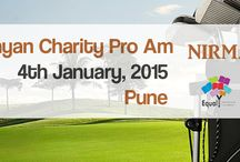 Nirmayan Charity pro Am / Nirmayan by Rajiv Datar and Equal opportunity Foundation Present Charity Pro Am on 4 January 2015, at oxford Golf & Country Club in aid of plan india