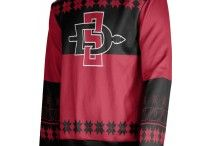 Collegiate Ugly Holiday Sweaters / Make Christmas great again by shopping our exclusive (not so) ugly X-mas sweaters! Get winter ready and show your school spirit all in one with these stylish, unique sweaters. Shop now at sportswearunlimited.com for a limited time!