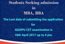 MBA,BBA CET Examinations