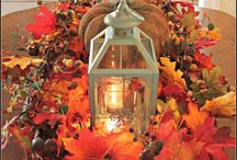 Thanksgiving/Fall decoration ideas
