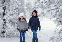 Фотосессии зимние