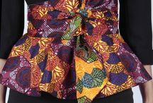African waistband