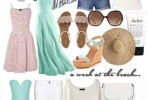 Suitcase outfit summer woman