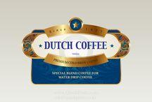 Dutch Coffee Sticker / 더치커피 스티커를 당일제작 합니다. 시제품에 견본 제작하신후 여러번의 교정 과정을 거쳐 나중에 대량으로 제작하시면 매우 경제적입니다. 퀵스티커(QuickSticker)는 디지털 방식으로 제작되는 초특급 당일제작 스티커 입니다. Powered by QuickPrint