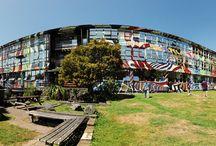 Panoramic Photos around Art School Campus