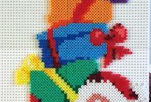 pixel hama