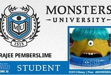 Monsters U / by Rajee Pandi