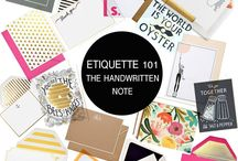 Postmarked Etiquette