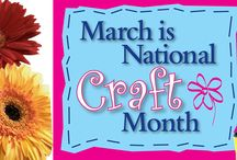 National Craft Month 2016 / Celebrate creativity with us through the month of March!