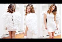 alas de angel con algodon de relleno