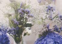 mariage bleu et blanc