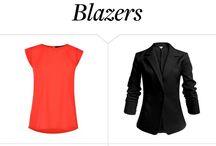 Blaser tragen /kombinieren