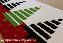 Christmas Quilts and Runners / Christmas themed quilts and table runners