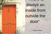 Quotes / Inspirational quotes about windows, doors and home improvement.