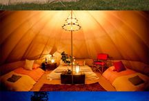 Camping and Glamping / Inspiration and tips for your camping or glamping trips