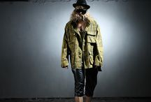 ByTheR- Modern Classic Military Camouflage Street Punk Style Fashion / http://en.byther.kr/