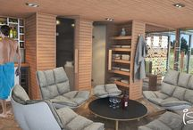Exclusive Sauna House for an Exclusive Vinery