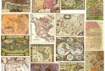 Maps / by Angela Hobbs