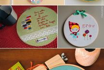 hoop-la: embroidery hoop crafts / by Kennie Rolle-Bevan