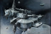 spaceships / all the pictures are my own designes