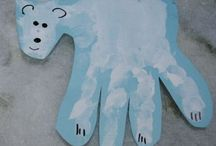 Handprint/Footprint Art