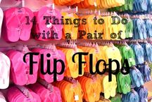 Flip Flop Creations / Turn a plain pair into something fabulous to wear...Creative and fun.
