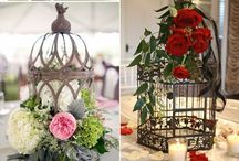 DIY vintage birdcage