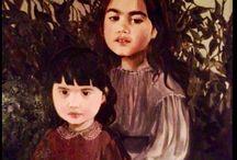 Bora Aksu Canvas work / Bora Aksu's oil paintings