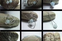 Handmade Jewellery Selections / A selection of gemstone, glass and pearl jewellery all combined with sterling silver- limited editions. http://www.silverwiredesigns.com #handmadejewellery #jewellery #jewelry