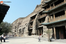 Yungang Grottoes, Datong, China / Wonderful attraction near Datong in northern China. Absolutely stunning depictions of Buddha in numerous huge caves.