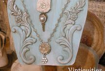 Jewelry bar ideas / by Jessie Parker
