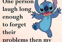 funny/cute Stitches qoute