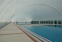 opblaasbare dome zwembad