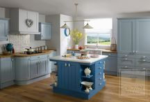 Painted Kitchens / A pop of colour, whether bold or subtle, can add character to your kitchen