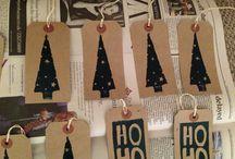 Christmas Lino prints