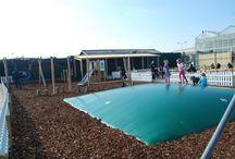 Tuincentrum Jacobs BudgetPlant / De speeltuin gerealiseerd bij Tuincentrum met restaurant Jacobs BudgetPlant.